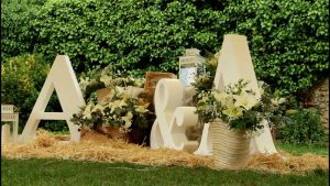 Decoracion boda llagar de colloto