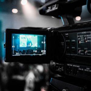 Cámara de television